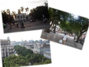 Parque Central y Paseo del Prado