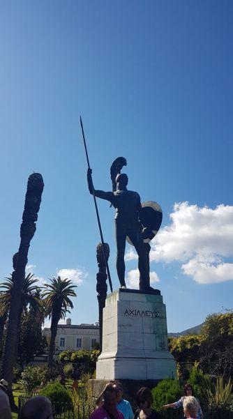 Estatua Aquiles